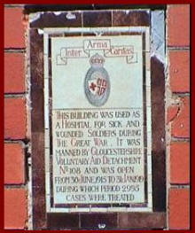St John's VAD Hospital Plaque